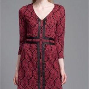 Tracy Reese NEW W/ TAGS 3/4 Sleeve Jacquard Dress